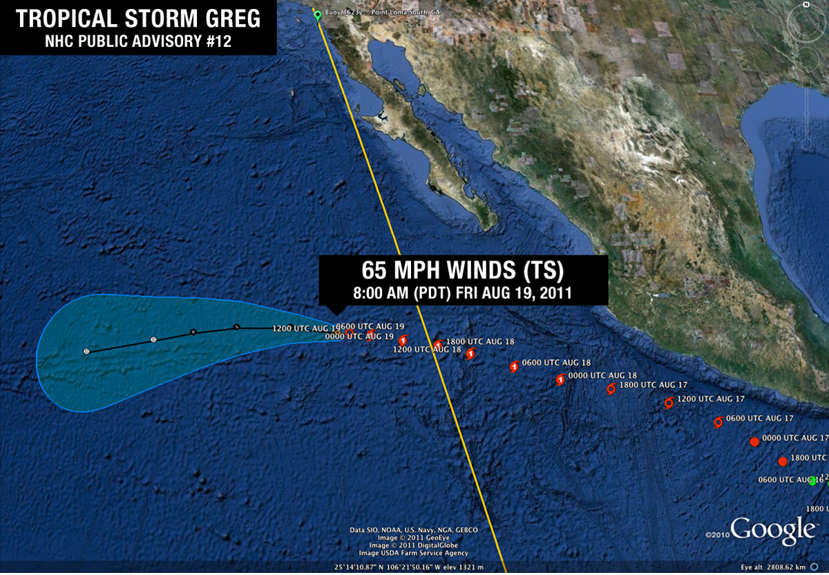 Tropical Storm Greg Advisory #12